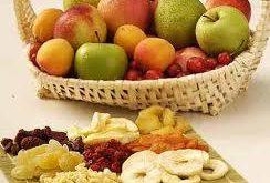 میوه خشک طبیعی