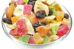 میوه های خشک استوایی