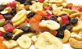 میوه خشک بسته بندی شده
