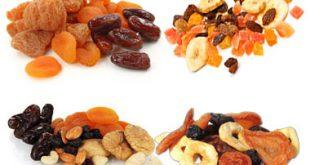 قیمت انواع میوه خشک و چیپس میوه