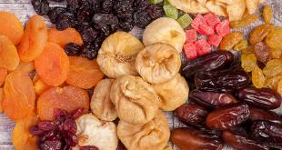 میوه های خشک حبه ای تایلندی