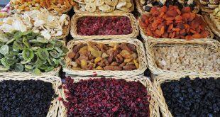 قیمت عمده میوه خشک در بازار تهران