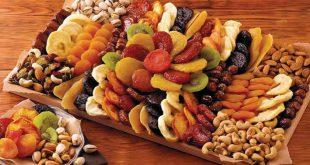 قیمت میوه خشک مخلوط بسته بندی شده