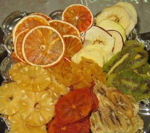 چیپس میوه خشک شده